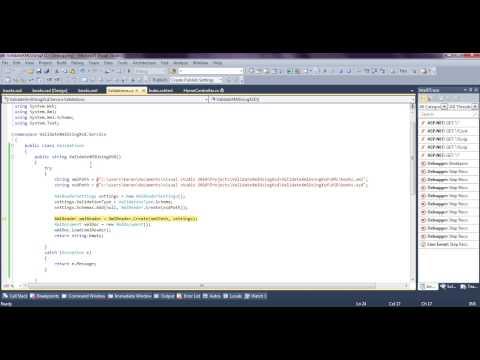Validate XML File using XSD in Asp.net MVC3 C#