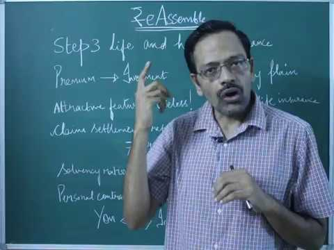 ₹e-Assemble Step3: How to Choose a Term Life Insurance Policy  (part A)