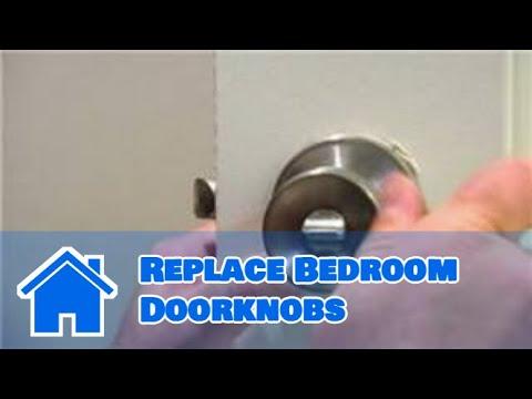 Door Maintenance : How to Replace Bedroom Doorknobs