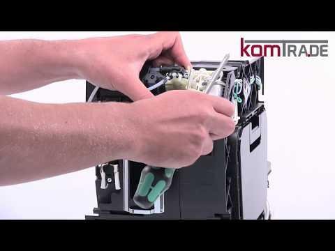 ETAM Kaffeeauslaufverteiler ausbauen-ersetzen-tauschen-einbauen Delonghi Ersatzteile Reparaturanl.