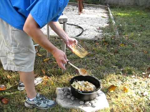 Camp Dutch Oven Beef Stew