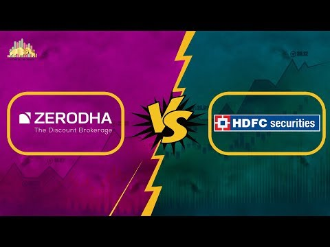 Zerodha Vs HDFC Securities - Detailed Comparison