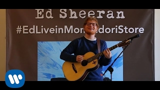 #WarnerSquad presents Ed Sheeran live @ Mondadori Store
