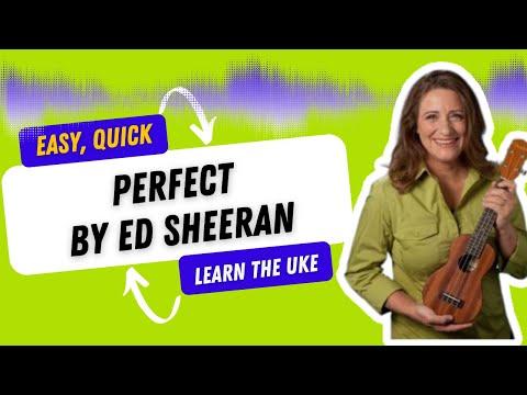 Perfect by Ed Sheeran Easy Ukulele Tutorial - 21 Songs in 6 Days: Learn Ukulele the Easy Way