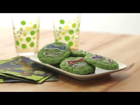 Introducing...Teenage Mutant Ninja Turtles Shell-Shocked Sugar Cookies