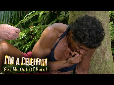 Fatima Gets A Cockroach Stuck Up Her Nose | I'm A Celebrity... Get Me Out Of Here!