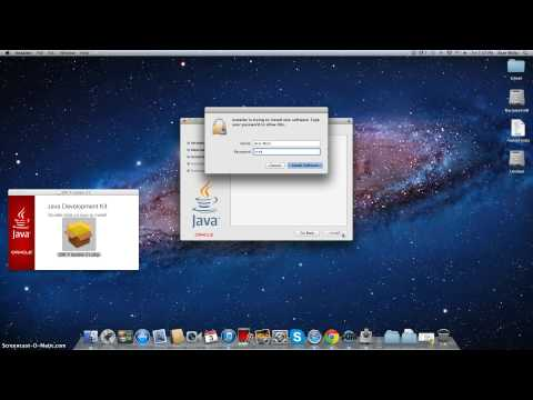 How to download Java onto Mac