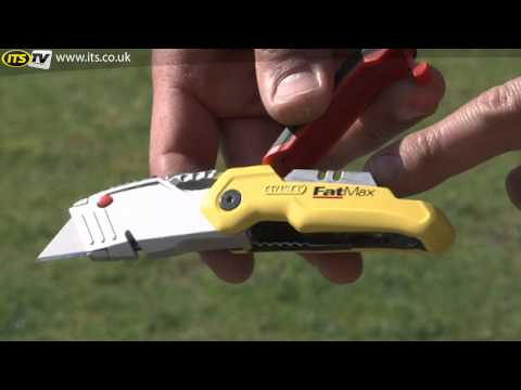 Stanley FatMax Retractable Folding Knife - ITS TV