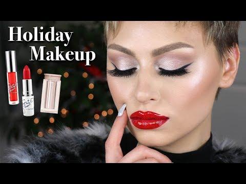 Holiday Glam Makeup Tutorial 2017 | Alexandra Anele