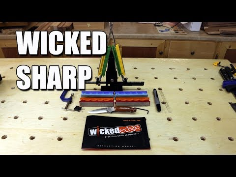 WICKED EDGE Field and Sport Pro Sharpener Review