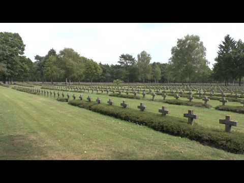 The largest German military cemetery outside Germany, Lommel, Belgium