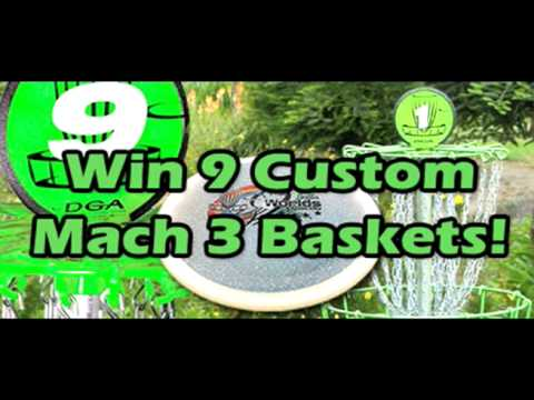DGA 9-Hole Disc Golf Course Giveaway & Worlds Fundraiser - Version 2