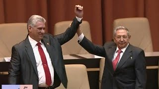 Castro era ends as Miguel Diaz-Canel is sworn in as president in Cuba
