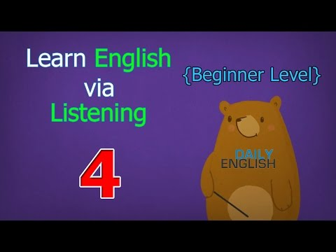 Learn English via Listening Beginner Level | Lesson 4 | Going Camping