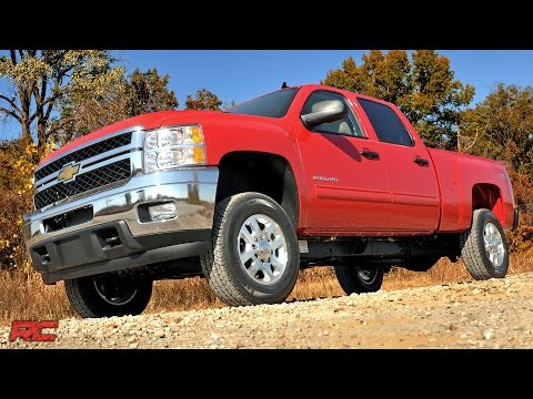 Installing 2011-2018 GM HD 1.5-2in Leveling Torsion Bar Keys Lift Kit by Rough Country