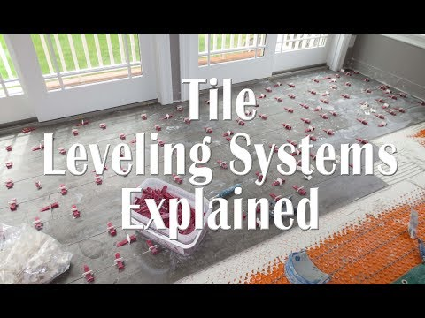 Tile Leveling systems explained