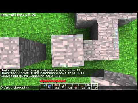 Minecraft Redstone: NAND Gate