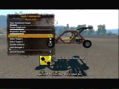 Trials Evolution Editor Tutorial - Movable/ Playable Vehicle/Car