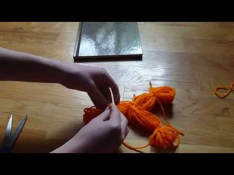 How to make a Yarn doll/person