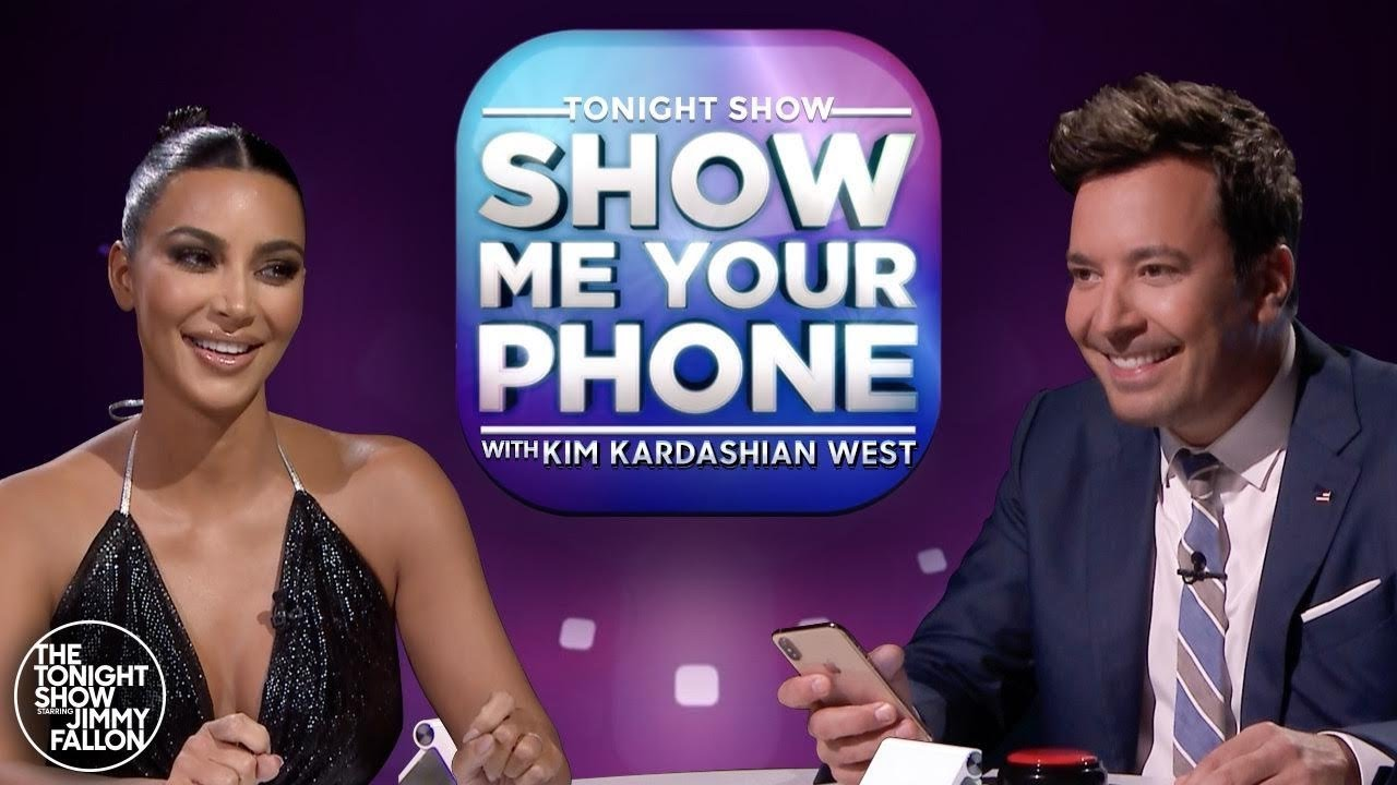 Show Me Your Phone w/ Kim Kardashian West