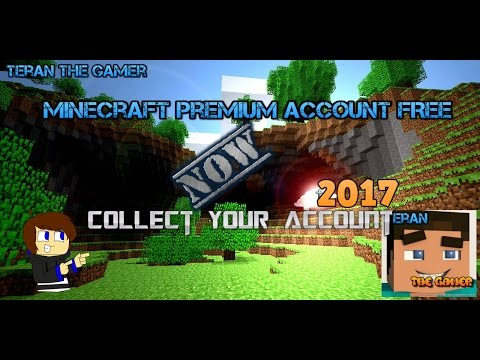 MINECRAFT HOW TO GET FREE PREMIUM ACCOUNT 2017   HD LEGIT 100% WORKING