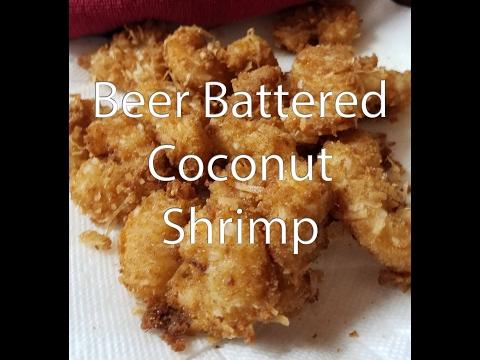 Beer Battered Coconut Shrimp Recipe