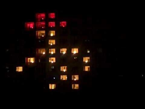 LIGHT SHOW Brno VUT 2012 Michael Jackson