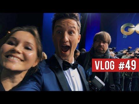 A GQ-WORTHY MIDNIGHT BLUE TUXEDO || GQ Germany Awards with Sami Slimani