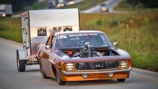 FASTEST STREET CAR IN AMERICA - Tom Bailey's 217 MPH '69 Camaro!