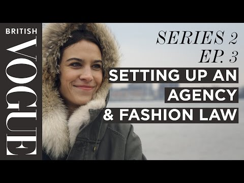 Alexa Chung: How to Set up an Agency  | S2, E3 | Future of Fashion | British Vogue