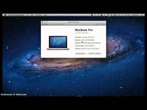 How to Check Your Mac's Memory
