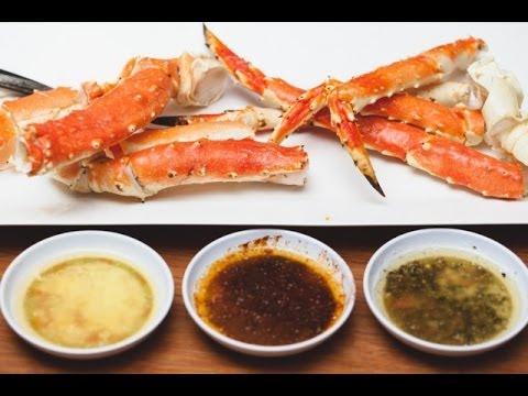 Crab Leg Appetizer. Onward to 2012!