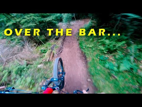 RAW |  A Fond au Lac Blanc Bike Park | La Flow Full Run + Crash