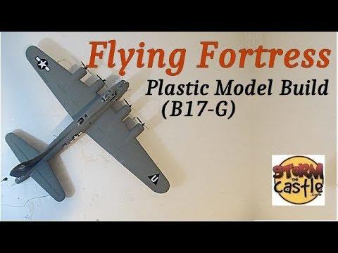 Make the Flying Fortress Plastic Model
