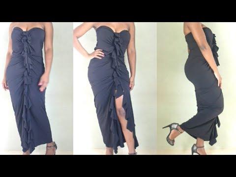 No Sew 5 Minute Prom/ Formal Dress