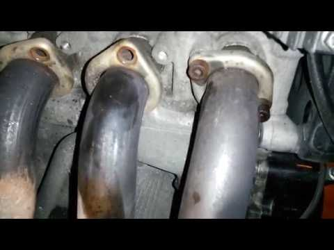 Removing exhaust fastners (Bolts)