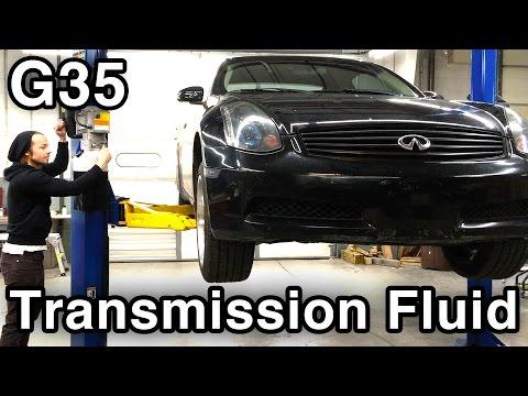 Change Manual Transmission Fluid [Infiniti G35/Nissan 350Z MTF]