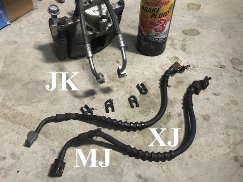 Back to Wrenching & Fun - JK Brake Lines on an XJ / MJ + Removing Wheel Spacers - S2E30