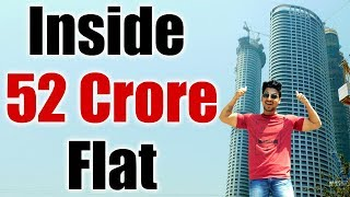 MUMBAI TALLEST SKYSCRAPER TOUR : 52 Crore Luxury Apartment from Inside