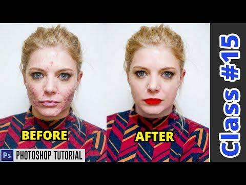Advanced Photo Retouching Photoshop Tutorial/Color Correction | Class #15