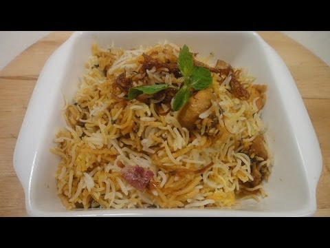 Mushroom and Babycorn Biryani | Sanjeev Kapoor Khazana