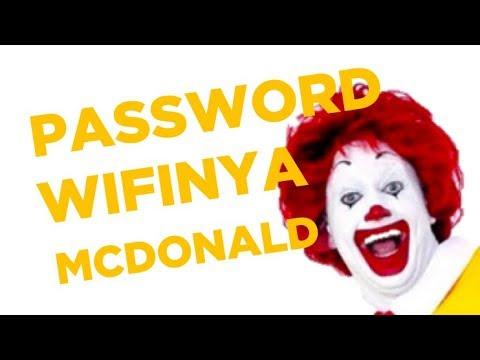 PASSWORD WIFI MCDONALD - SUPER KENCANG GUYS!