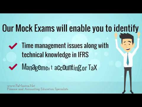 Accountancy Practice Test for CA/CPA/CIMA/ACCA