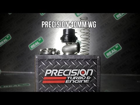 Precision 40mm Wastegate PTE 085-1500 - Real Street Performance
