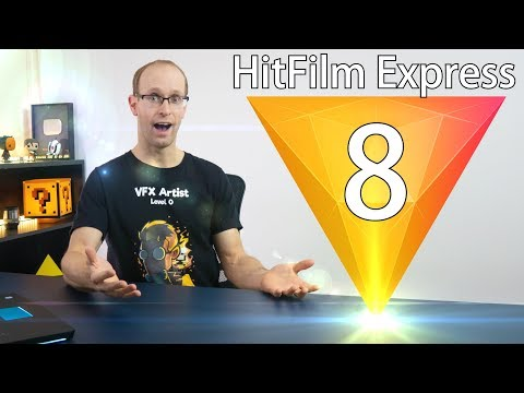 HitFilm Express 8 Review + New Features Tutorial!