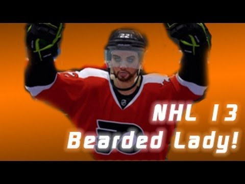 NHL 13: How To: The Bearded Lady