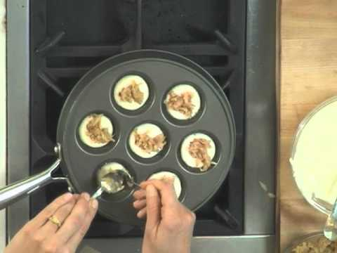 How To Make Filled Pancakes (Ebelskiver)