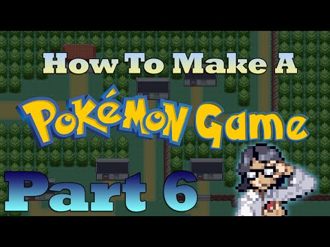 How To Make a Pokemon Game in RPG Maker - Part 6: Making Events