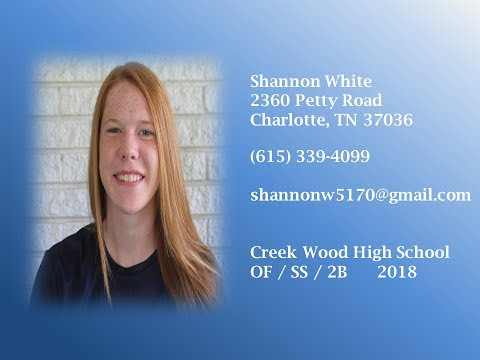 Shannon White  2018  OF/ SS