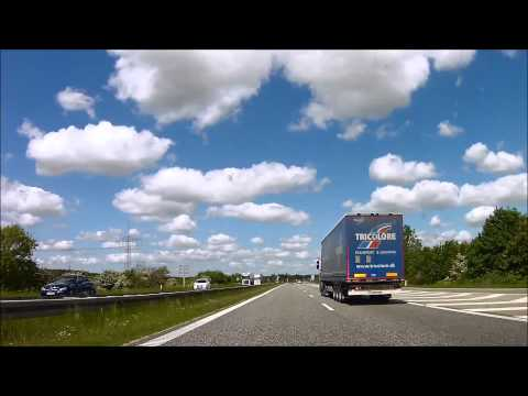 (2015/06/04)   Driving in my car from France to Sweden , June 2015